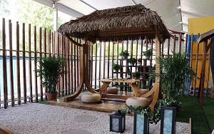 Bungalow mái lá trong resort – Xu hướng nghỉ dưỡng gần với thiên nhiên