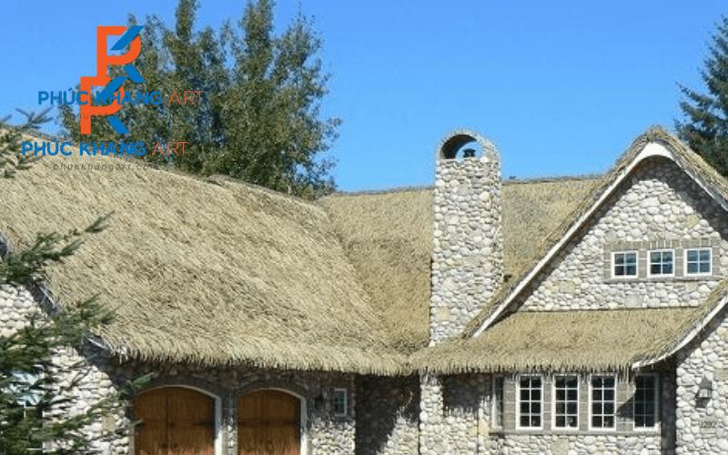 nhà mái lá đẹp
